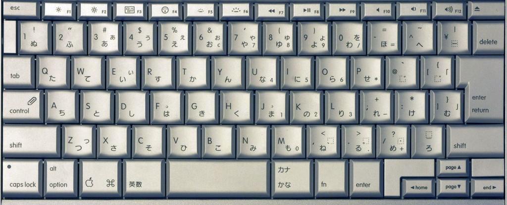 Apple MacBook Pro JIS Keyboard | © Hosikawafuzi / Wikimedia Commons