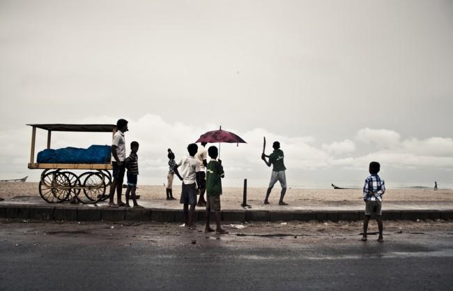 Children playing in the Marina | © Balaji
