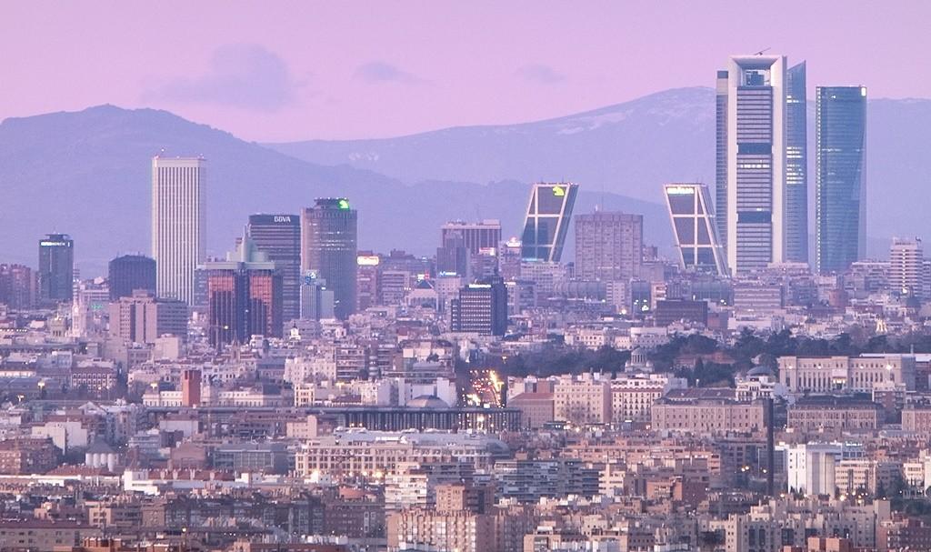 Madrid's skyline at susnet | © Madrid Destino Cultura Turismo y Negocio