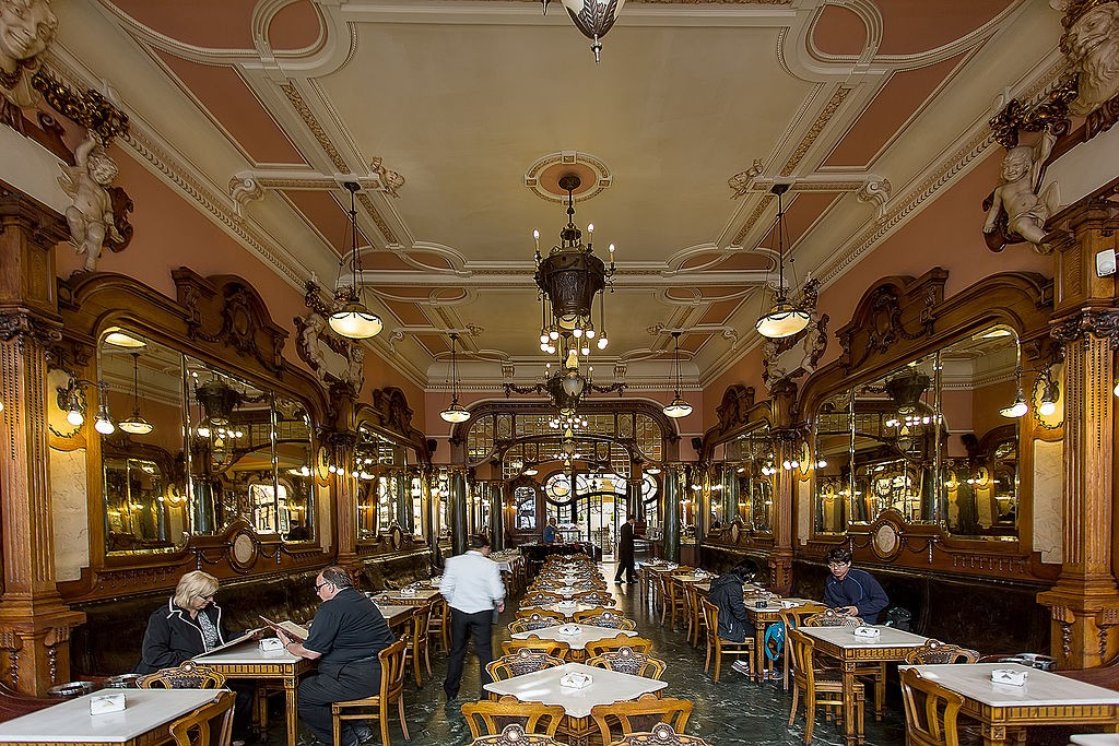 Majestic Café © José Moutinho / Wikimedia Commons