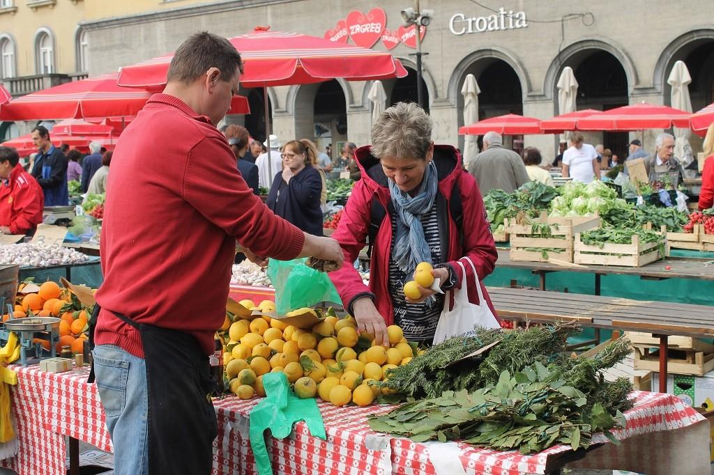 Market in Budapest