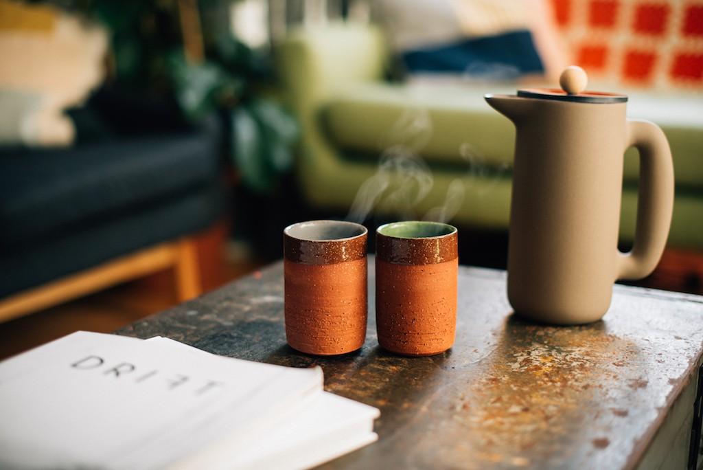 Derek Wilson Ceramics x Maven beakers
