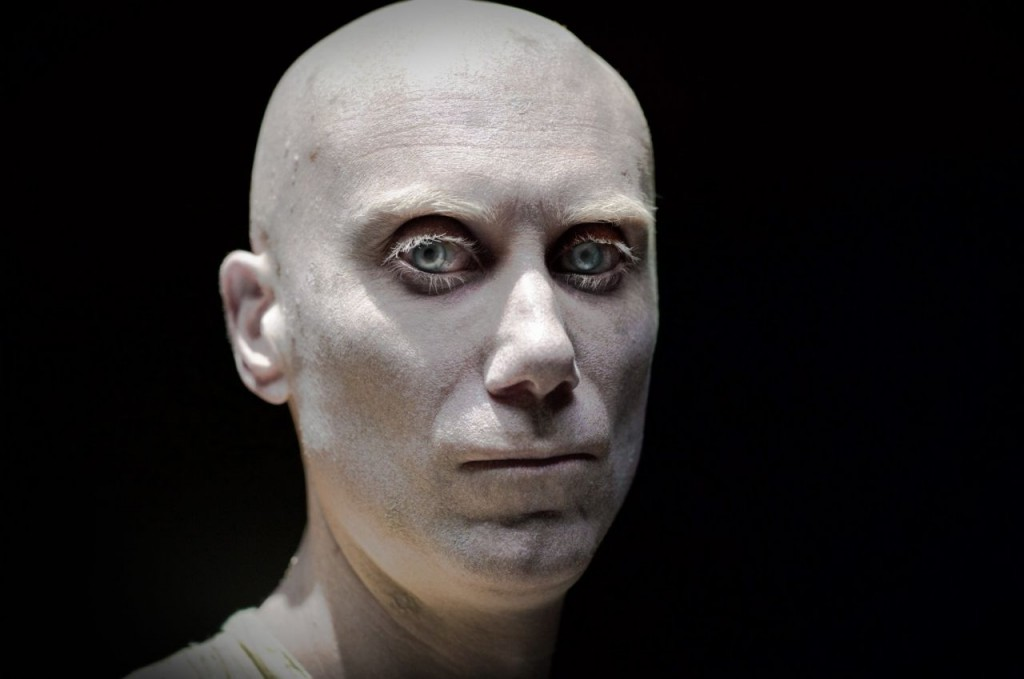Stephen Merchant as Caliban in 'Logan' | © 20th Century Fox