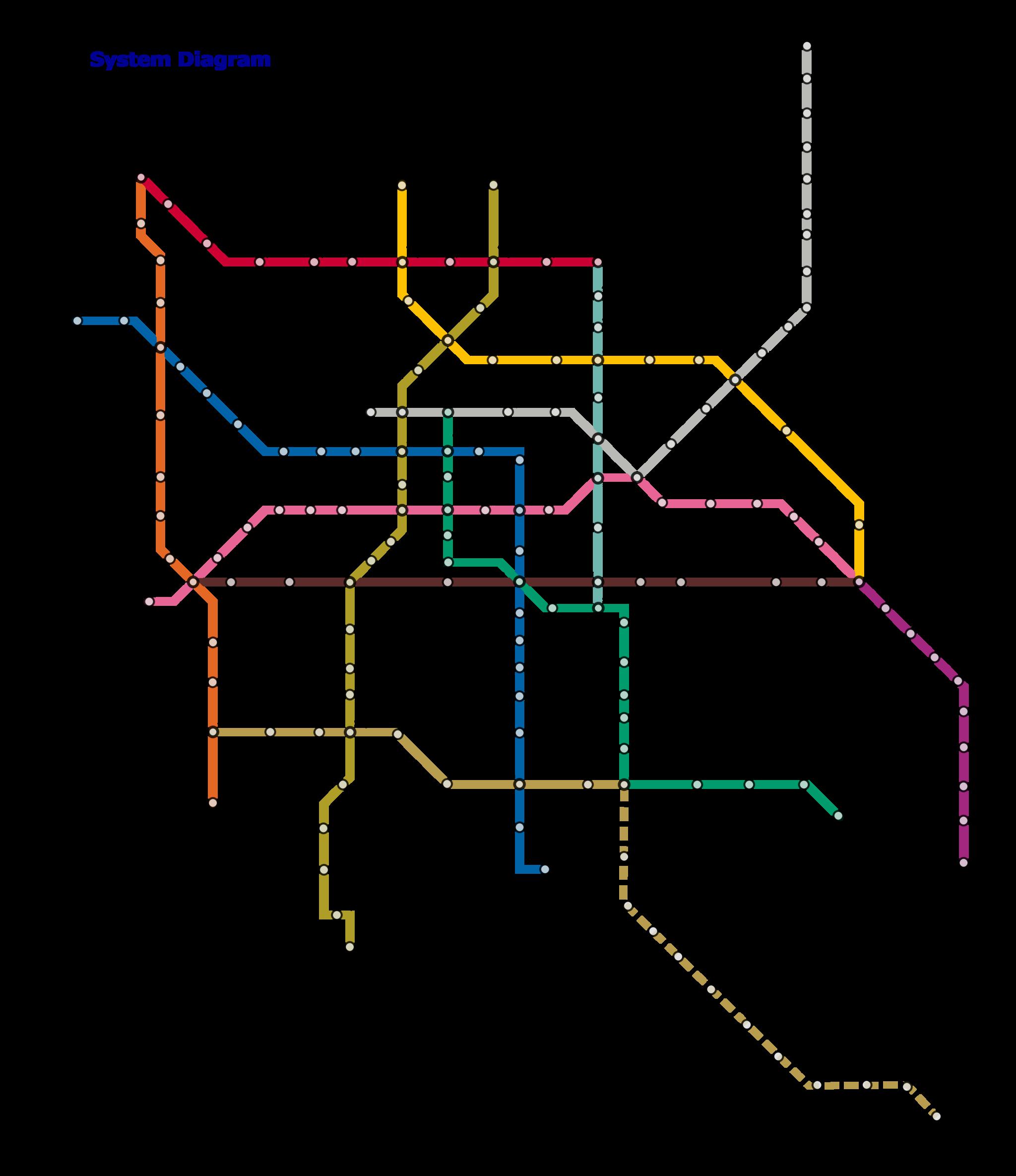 Metro map | © Fluence/WikiCommons