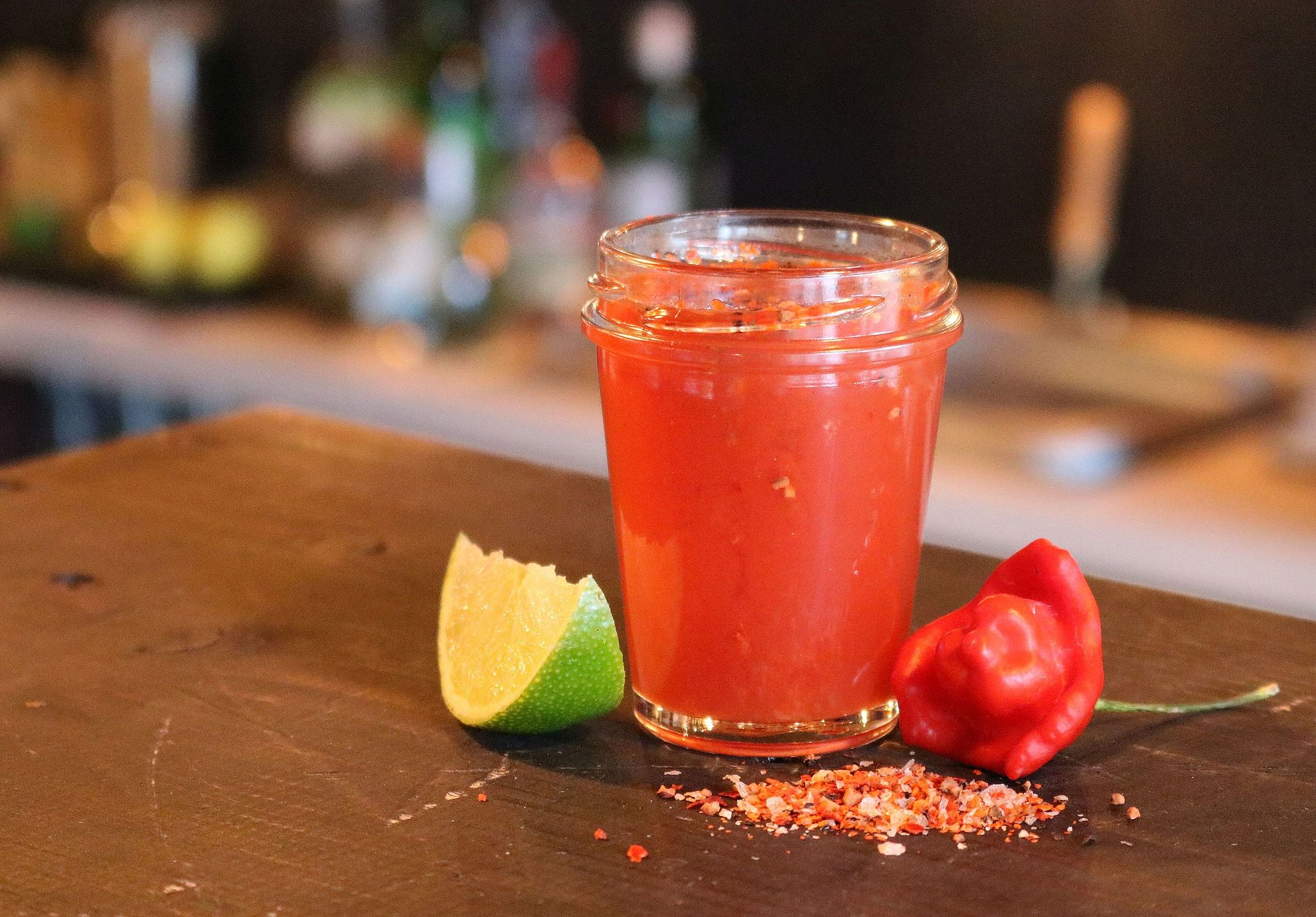 Sangrita, the Bloody Mary mix, is key to a good vampiro | © Achim Schleuning/WikiCommons
