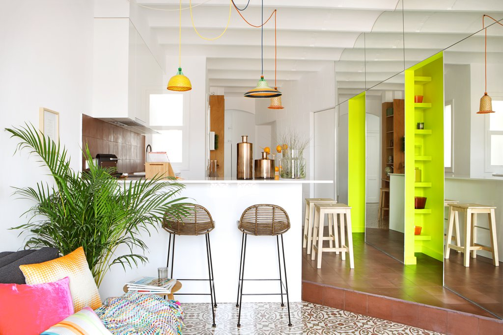 Apartment Pere IV Photo by Asier Rua, courtesy of MIEL Arquitectos