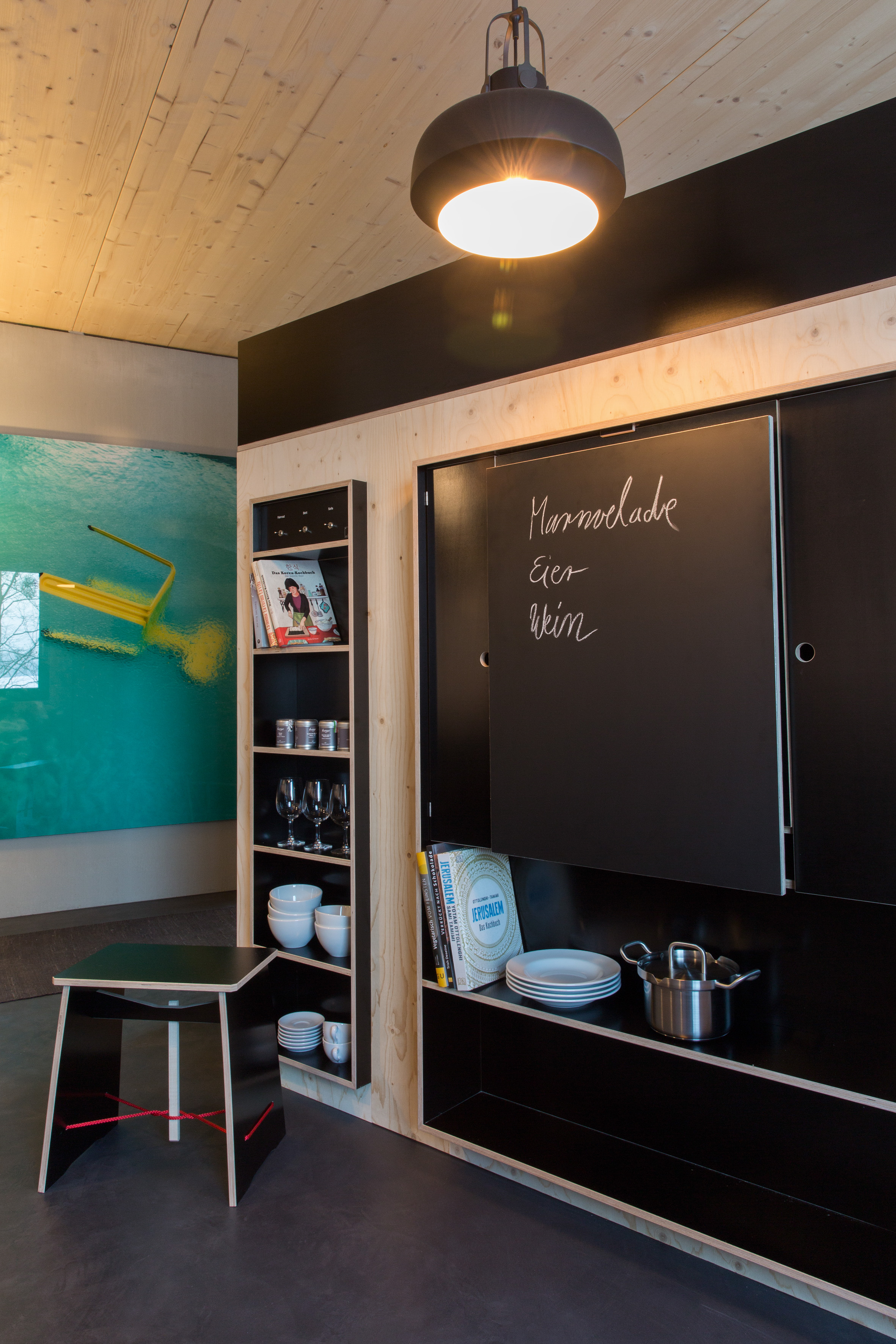 The blackboard folded up | © Julia Rotter