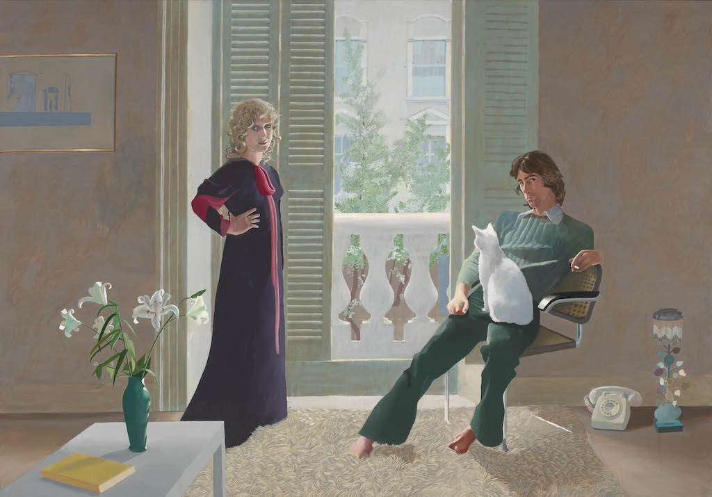 Hockney, Mr and Mrs Clark and Percy, T01269