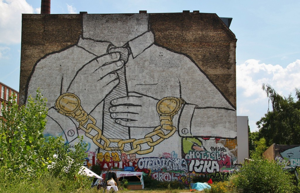 Murals in Berlin often come with strong socio-political messages | © Cocoparisienne\Pixelbay
