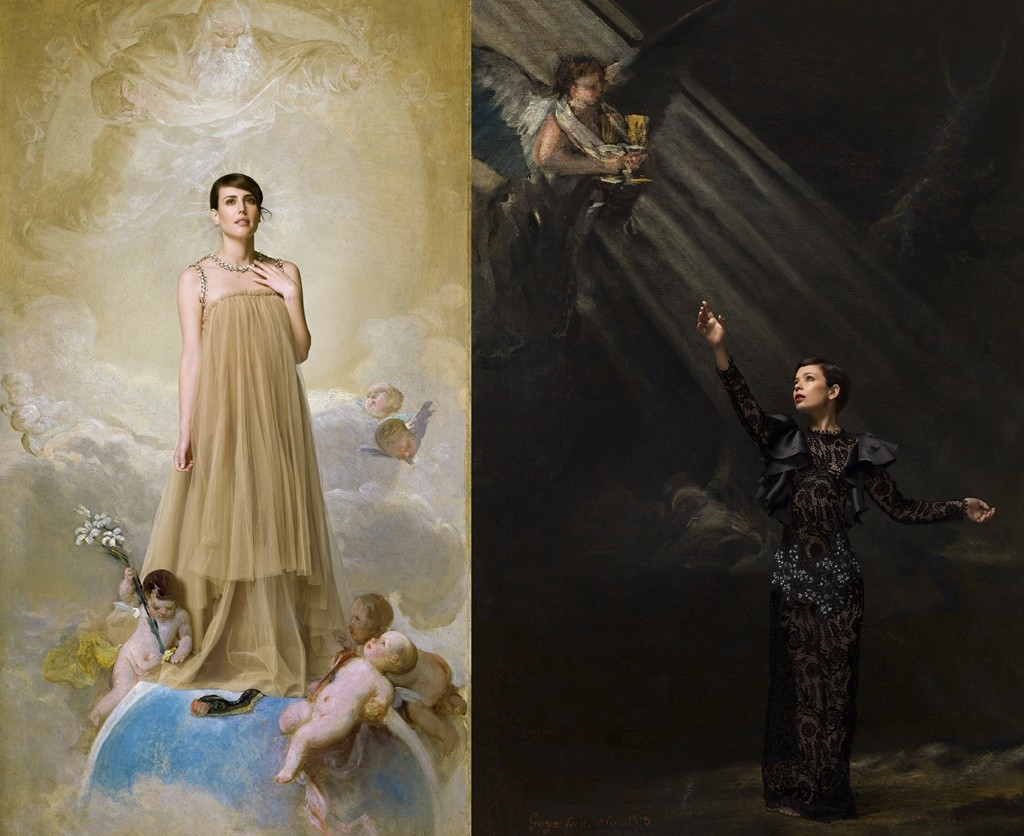 Natalia de Molina | © Museo Nacional de Prado/ © Denise De La Rue (left) and Ana Castillo | © Denise De La Rue (right)