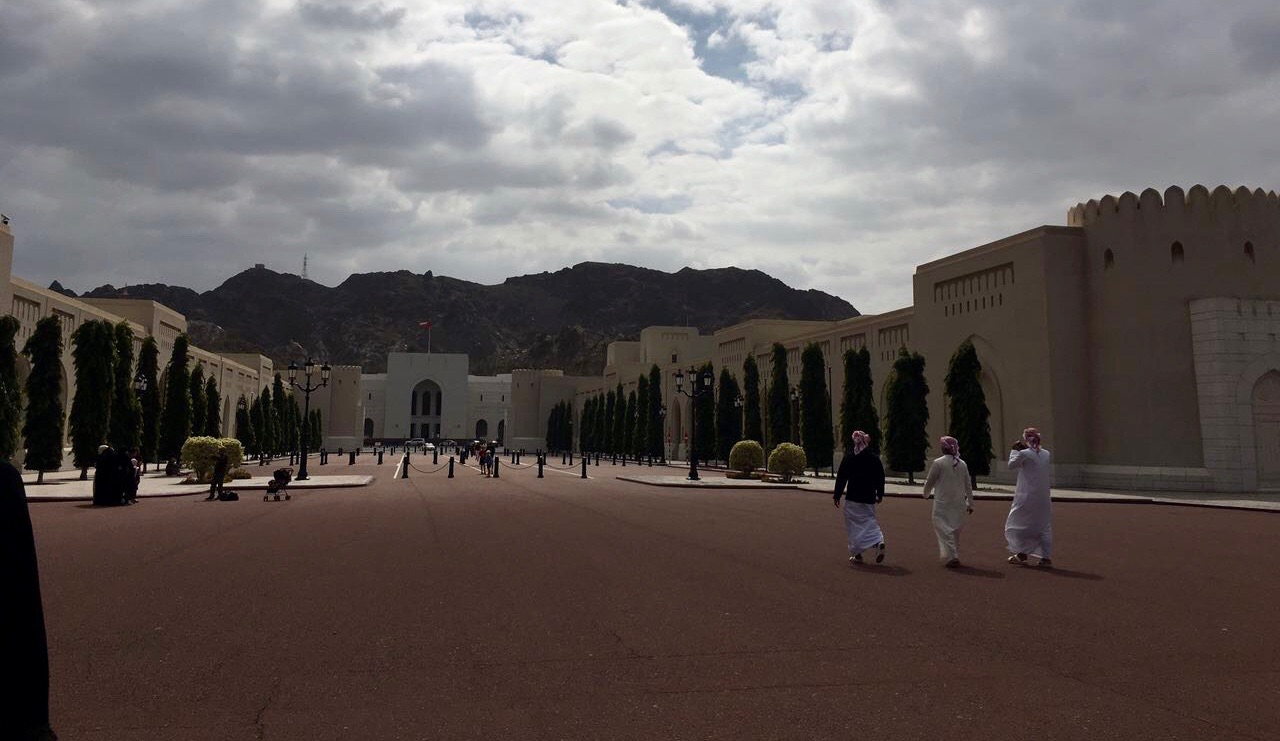 Oman's National Museum from a distance | © Asma Al Jandal