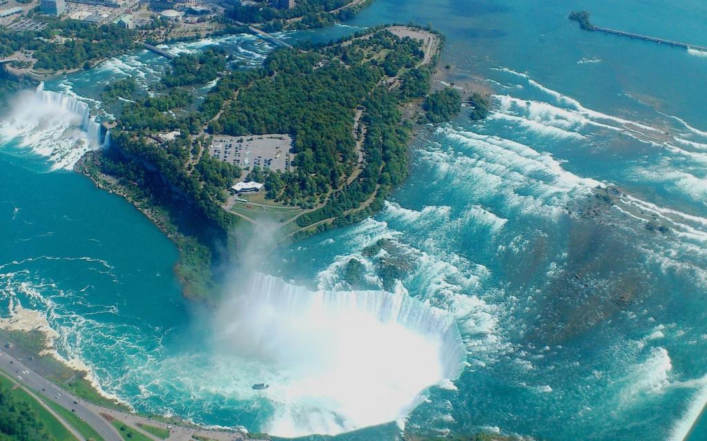 Bird's Eye View of Niagara Falls | © Karen282/Pixabay