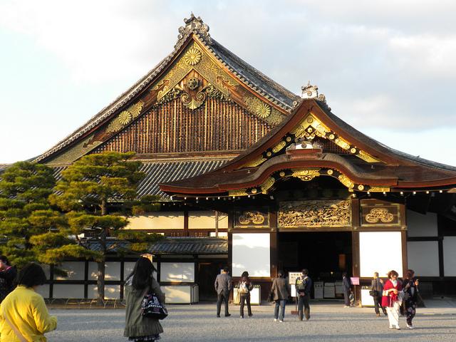 The Ninomaru Palace at Nijo Castle