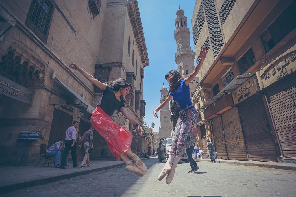 Nirvana El Nahhal and Roshan Hesham