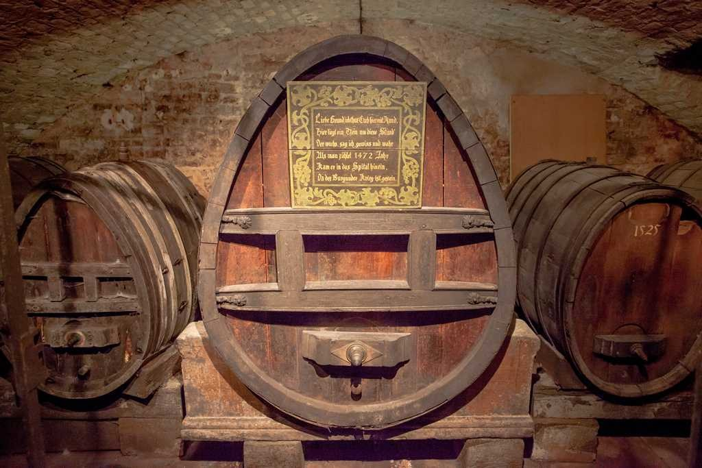 Oldest Wine in the Cellar of the Hospice in Strasbourg ©Philippe de Rexel/OT Strasbourg