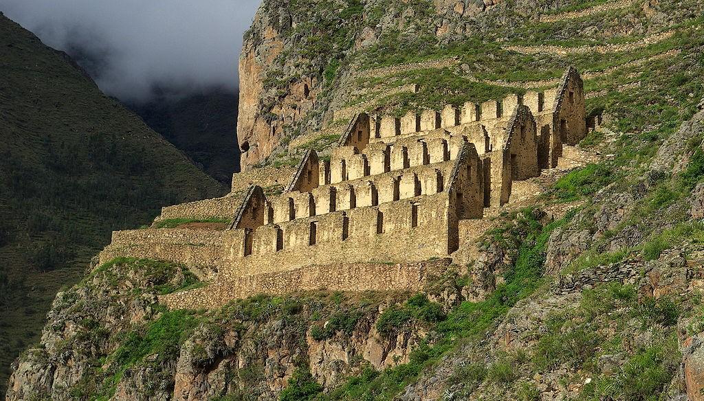 Ollantaytambo|©Stevage/Wikipedia
