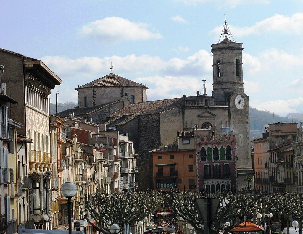 Olot, Girona, Spain   ©Wamito / Wikimedia Commons