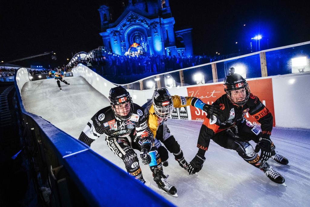 Scott Croxall, Kyle Croxall, Marco Dallago and Luca Dallago compete   © Red Bull Content Pool