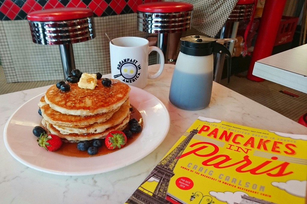 Pancakes and Pancakes in Paris │ Courtesy of Breakfast In America