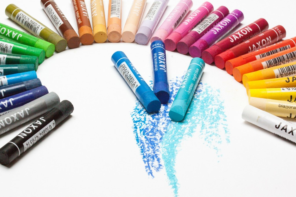 Oil pastels | © Stux / pixabay