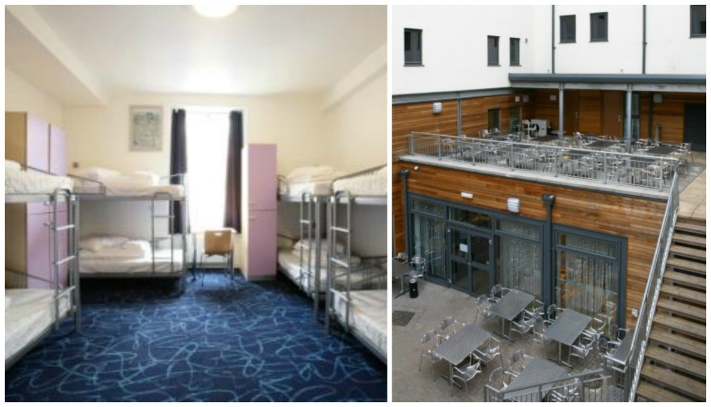 Smart City Hostels Room   © Smart City Hostels/Flickr // Rooftop Terrace   © Smart City Hostels/Flickr
