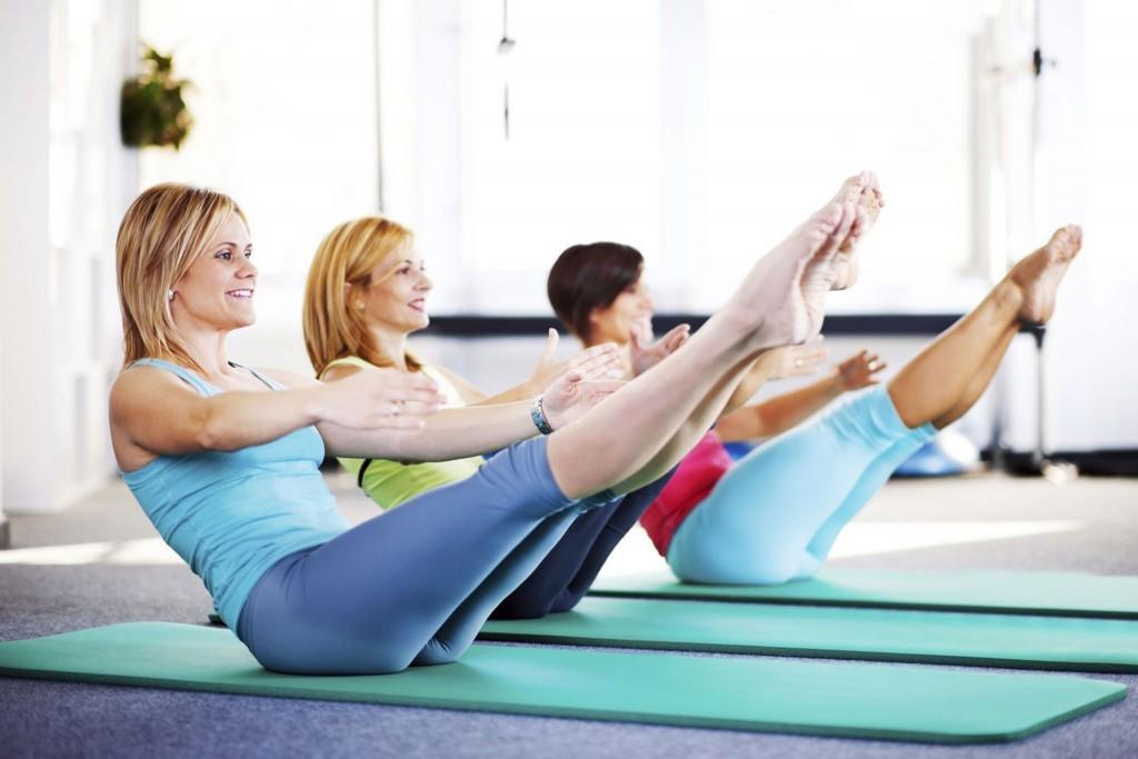 pilates class / (c) teammarche / Flickr