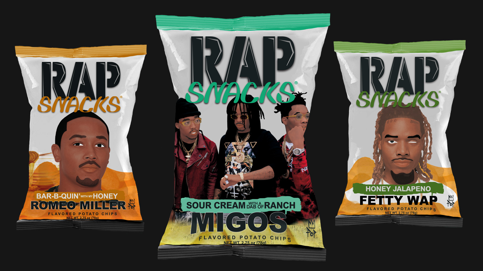 A Dab of Ranch: How the Relaunch of Rap Snacks Spurred 2017's Most Absurd Hip-Hop Single