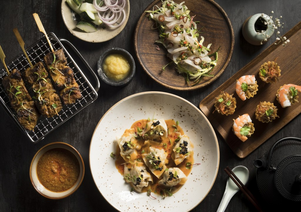 Food from Po | Courtesy of The Warehouse Hotel