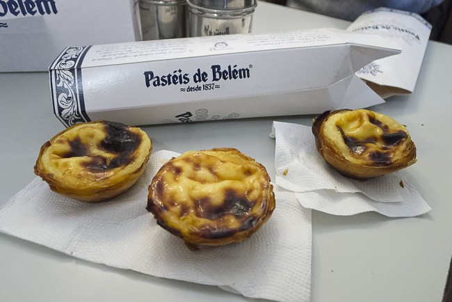 Pastéis de Belém © mmmmngai@rogers.com / Wikimedia Commons