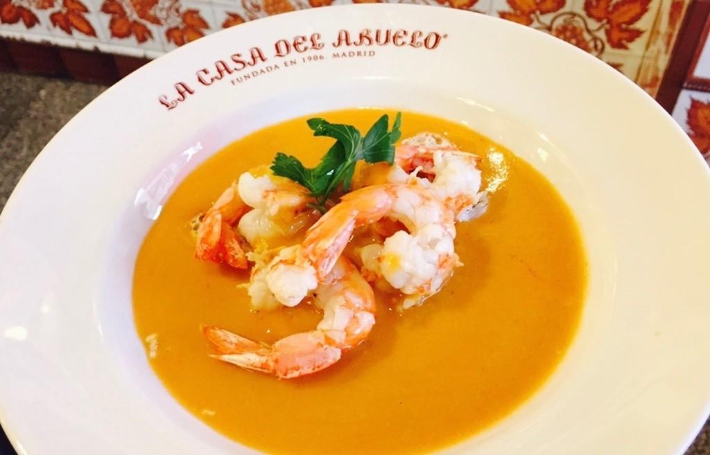 The famous prawns   © Casa del Abuelo