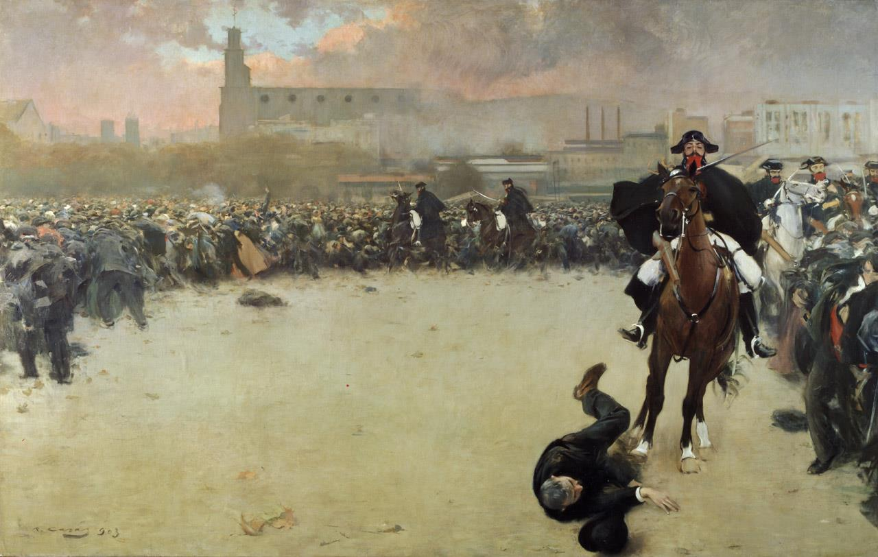 The Charge of Barcelona (1902) CC0 Public Domain