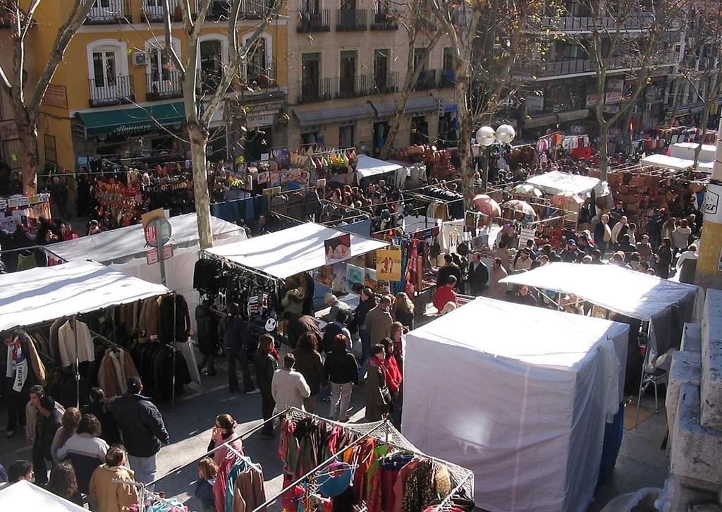 The El Rastro flea market | © Pablo Alberto Salguero Quiles/Wikipedia