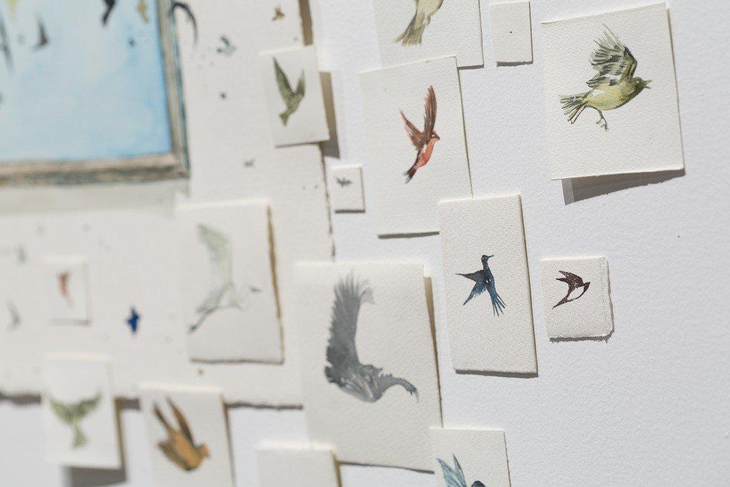 Birds by Renata Cruz   © Blanca Soto Arte