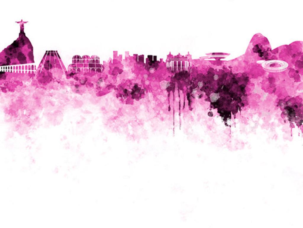 Rio in purple  © Paul Rommer/Etsy