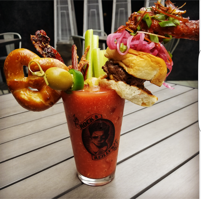 A Bloody Mary at Rock & Reilly's | Courtesy Rock & Reilly's