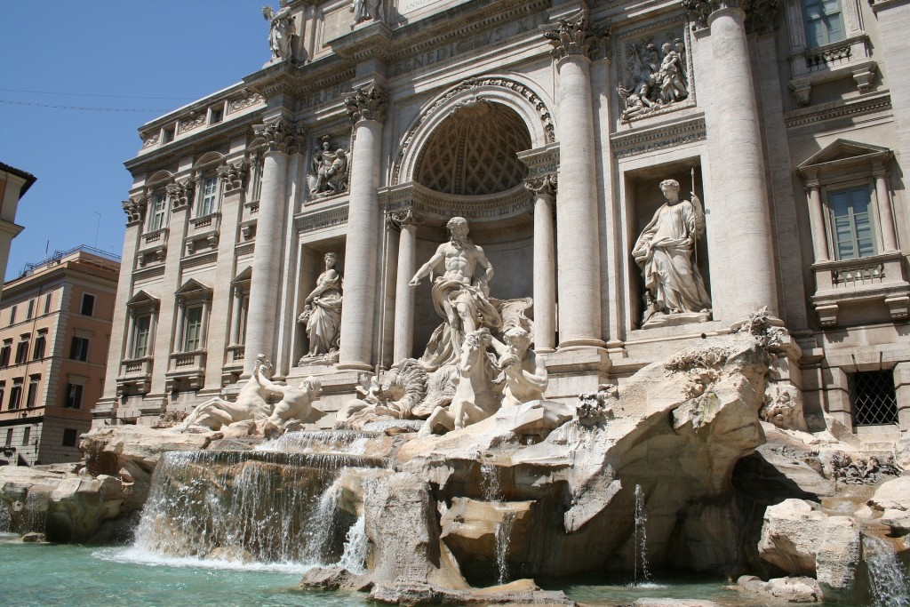 Trevi Fountain | © pixabay