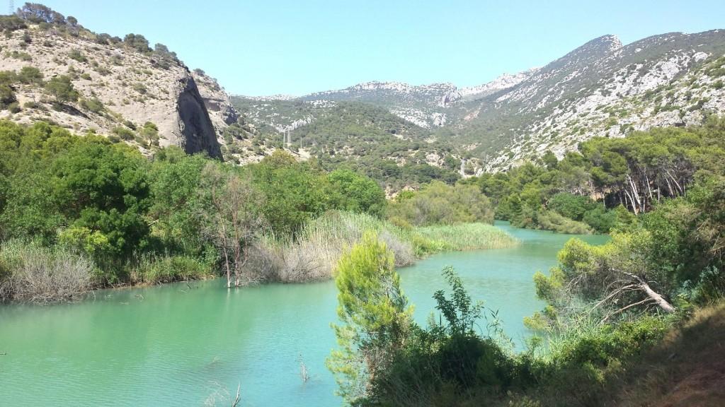 Part of the Caminito takes you through the stunning landscape of El Chorro, Malaga; courtesy of Encarni Novillo