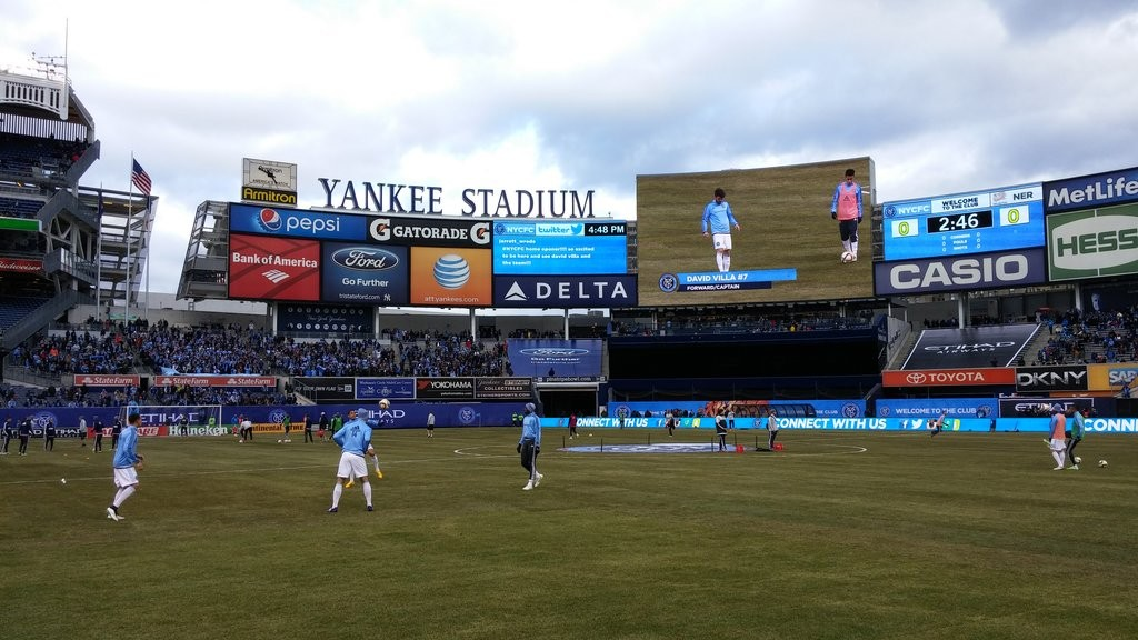 New York City FC play their home games at Yankee Stadium | © Michael LoRé/Culture Trip