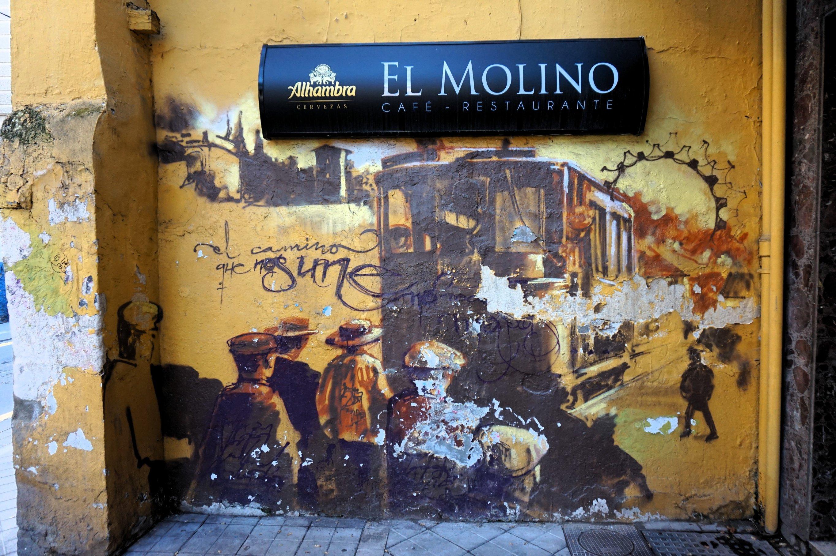 The best street art in granada for Gimnasio 02 granada precio