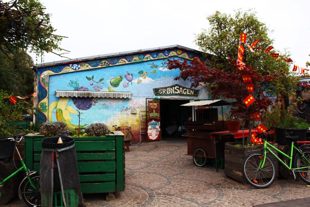 Grønsagen Christiania | © Aliki Seferou