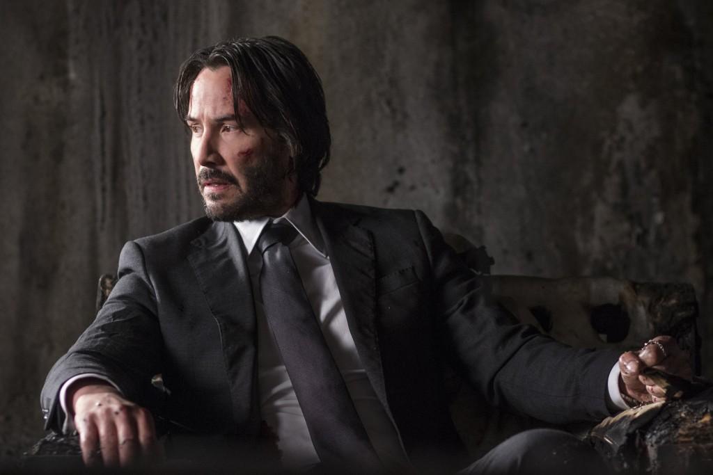 Keanu Reeves as John Wick in 'John Wick: Chapter 2' | © Warner Bros
