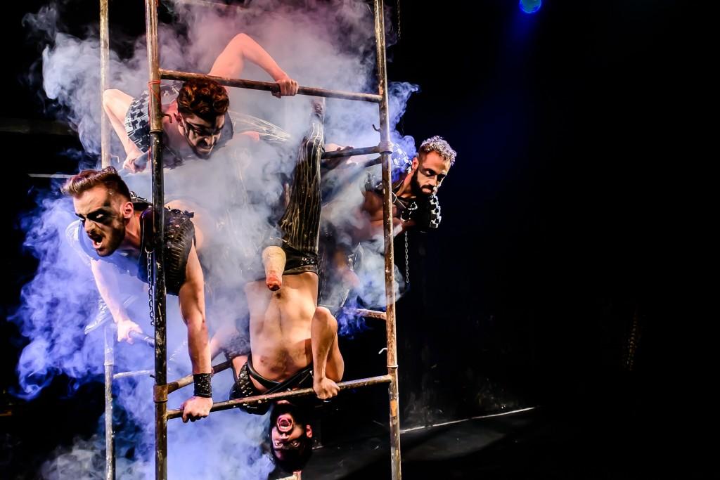 Satyros theatre troupe © Andre Stefano