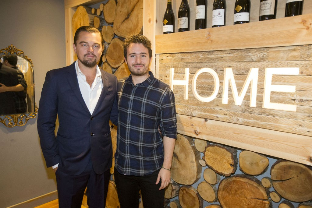 Leonardo DiCaprio And Josh Littlejohn | Courtesy Of Social Bite And Frame Agency Glasgow