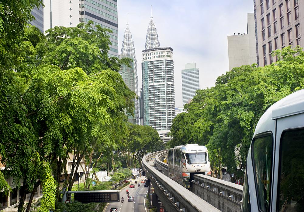 Kuala Lumpur metro consists of 6 metro lines operated by 4 operators| © joyfull/Shutterstock