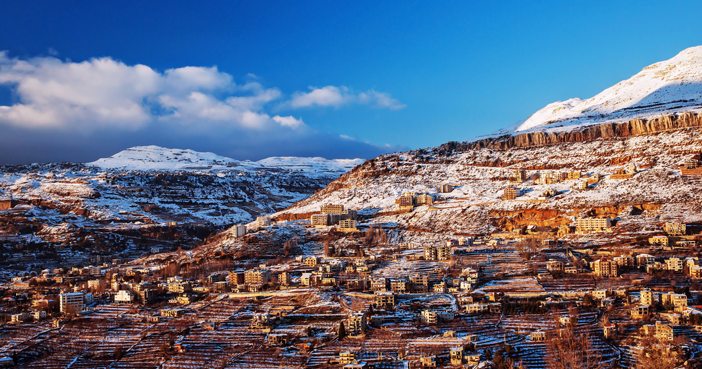Faraya mountain in Lebanon, ski resort | © Anna Om / Shutterstock