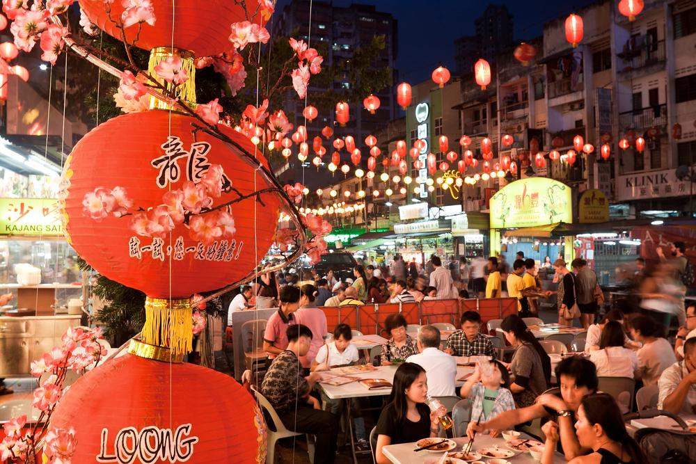 Street restaurant Jalan Alor in heart of Kuala Lumpur | © Migel/Shutterstock
