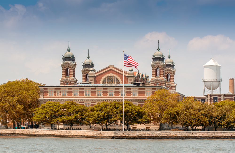 Ellis Island | © Pisaphotography