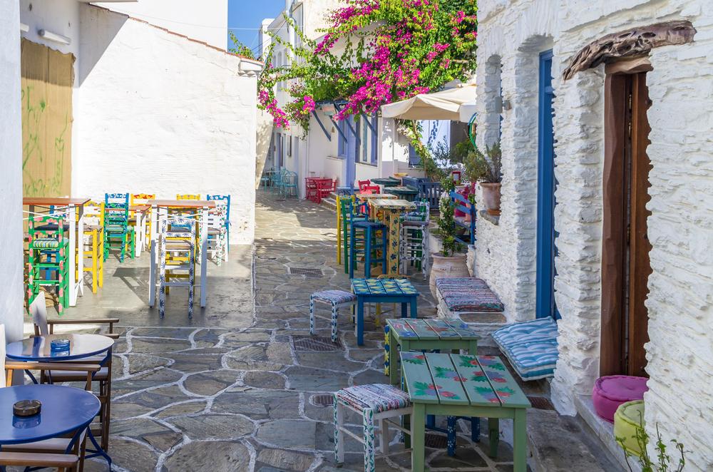 Street in Kythnos island, Cyclades, Greece| © kokixx/Shutterstock