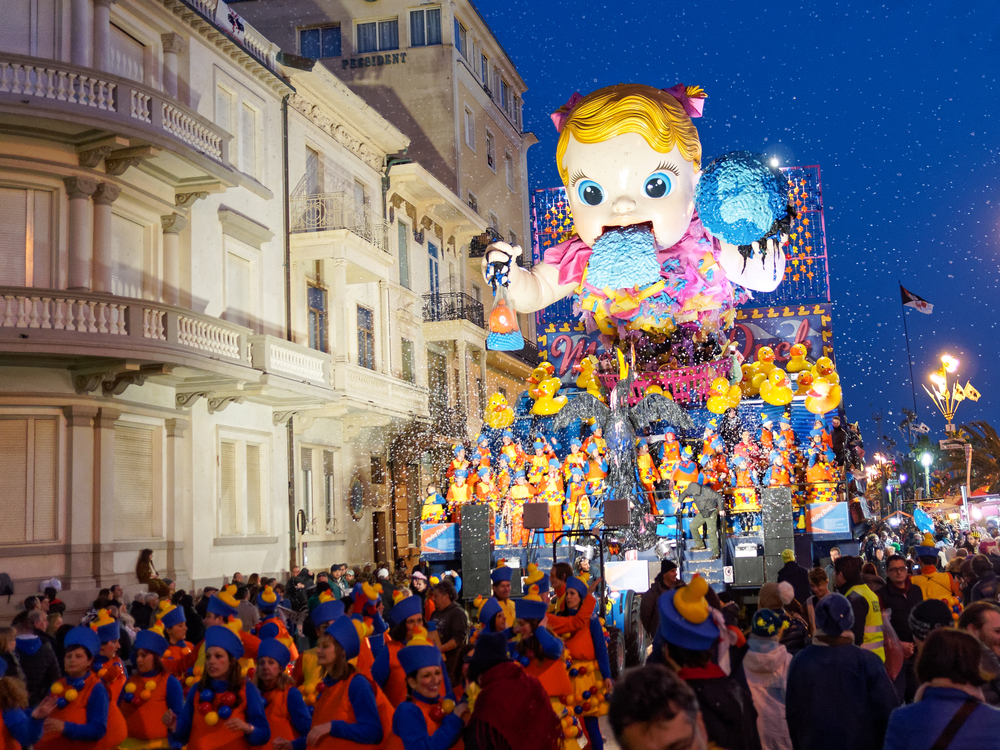Allegorical float at Viareggio Carnival | ©marchesini62 / Shutterstock