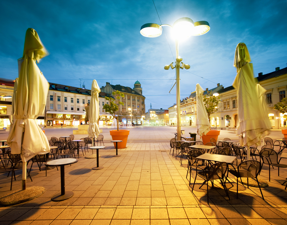 City of Osijek, Croatia, main square | © oriontrail/Shutterstock